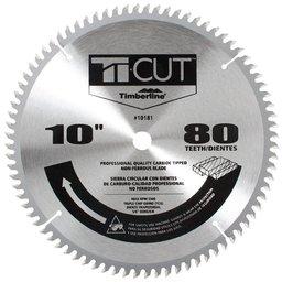 Disco de Serra para Alumínio e MDF 10 Pol. 25,4mm com 80 Dentes