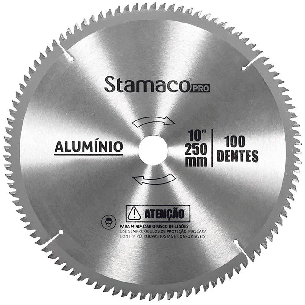 Disco de Alumínio 10 Pol. 250mm 100 Dentes