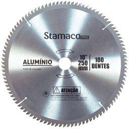 Disco de Alumínio 10 Pol. 250mm com 100 Dentes