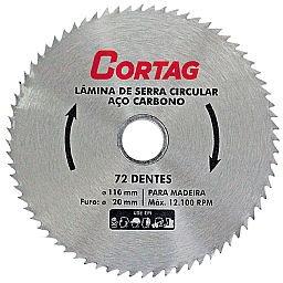 Lâmina de Serra Circular 110mm com 72 Dentes
