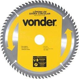 Lâmina de Serra Circular com Dentes de Metal Duro/Vídea 250 mm x 30 mm 60 Dentes