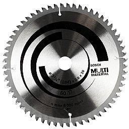 Disco de Serra Circular Multimateriais 7-1/4 Pol.