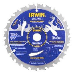Disco de Serra Circular Weldtec 184mm x 24D x 20mm