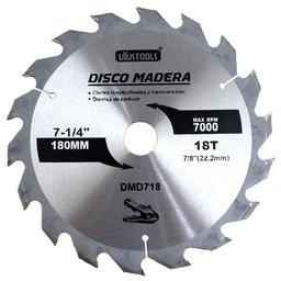 Disco de Serra Circular de 7.1/4 Pol. para Madeira - 18 Dentes