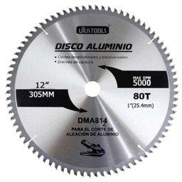 Disco de Serra para Cortar Alumínio 80 Dentes de 12 Pol.