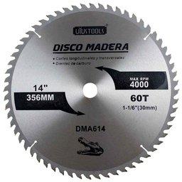 Disco de Serra Circular de 14Pol. para Madeira - 60 Dentes