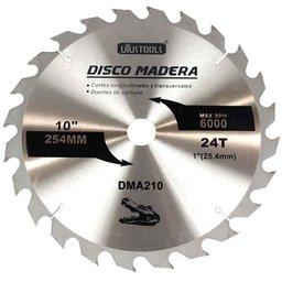 Disco de Serra Circular de Wídea 10 Pol. para Madeira - 24 Dentes