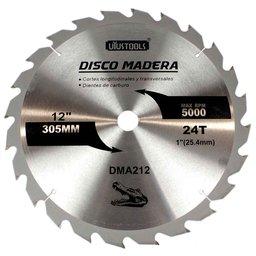Disco de Serra Circular de Wídea 12 Pol. para Madeira - 24 Dentes