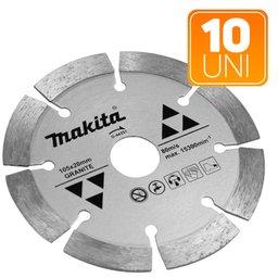 Kit 10 Discos Rebolo Diamantado 105mm Makita D44351