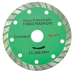 Disco Diamantado Rayo Mármore 4 3/8 Pol.