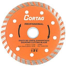 Disco de Corte Diamantado Turbo Profissional 110mm