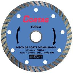 Disco de Corte Diamantado Turbo 110 mm