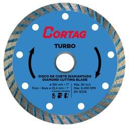 Disco de Corte Diamantado Turbo 180mm