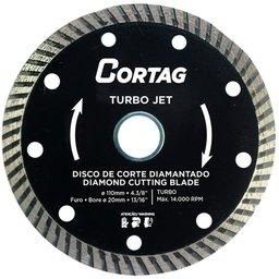 Disco de Corte Diamantado Turbo Jet 110mm