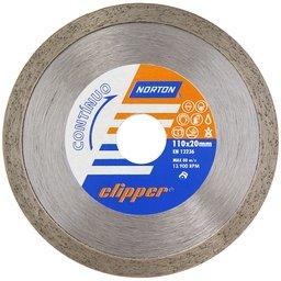 Disco de Corte Diamantado Continuo 110x20mm