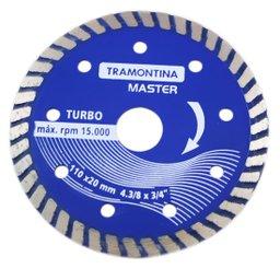 Disco Diamantado Segmentado Turbo 110 x 20mm