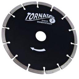 Disco Diamantado Tornado Segmentado 7 Pol.