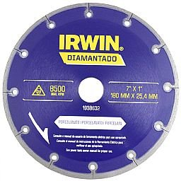 Disco Diamantado para Porcelanato 7 Pol.