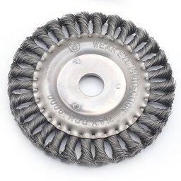 Escova Circular de Fio Trançado 150mm