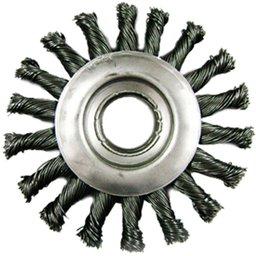 Escova Circular de Aço Tipo Trançada 4. 1/2 Pol.