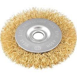 Escova circular 3 Pol. x 3/8 Pol. x 1/2 Pol. (76,2 mm x 9,53 mm x 12,7 mm) VONDER