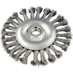 Escova circular 4 Pol. x 1/2 Pol. M14 torcida VONDER