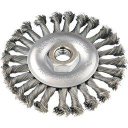 Escova circular 4.1/2 Pol. x 1/2 Pol. M14 torcida VONDER