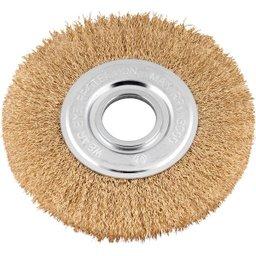Escova circular 6 Pol. x 1/2 Pol. (152 mm x 12,7 mm)  com bucha de redução VONDER
