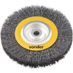 Escova circular 6 Pol. x 1 Pol. x 5/8 Pol. (152 mm x 25,4 mm x 15,9 mm)  VONDER
