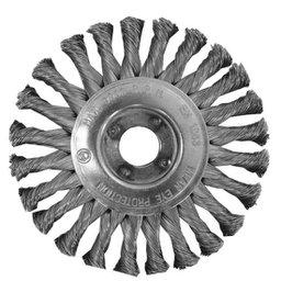 Escova Circular de  Fio Entrançado de 0,5mm 6 x 1/2 pol.