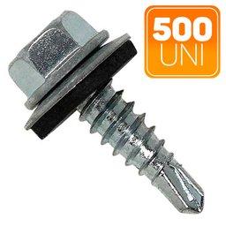 Caixa de Parafuso Sextavado Auto Brocante 4.8 x 16mm com 500 Unidades