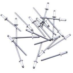 Kit de Rebites em Alumínio 3,2 x 8 mm com 20 Unidades