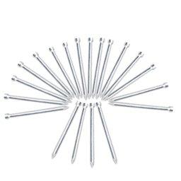 Pregos de Aço Sem Cabeça 2,50 x 35 mm com 20 Unidades