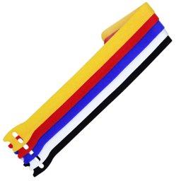 Fita para Agrupamento Multicolor 12mm x 25cm - 5 Unidades