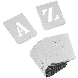Alfabeto 35 mm em Chapas Vazadas