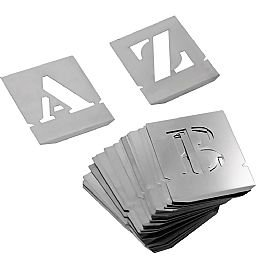Alfabeto de Chapa Vazada 50 mm