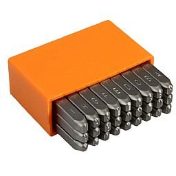 Jogo de Punções Alfabéticos 3mm