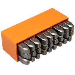 Jogo de Punções Alfabéticos 8mm