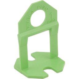 Espaçador e nivelador para piso 1,0 mm verde