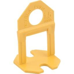 Espaçador e nivelador para piso 1,5 mm amarelo