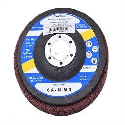 Disco Corsistrip Compacto 10.500 RPM Grão AMM Abrasivo Óxido de Alumínio Cor Vermelho Made In Italy