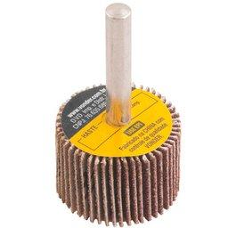 Roda de Lixa 30 x 20mm com Haste Grão 36