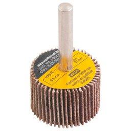 Roda de Lixa  Grão 80 30 x 20 mm com Haste 1/4 Pol.