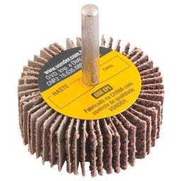 Roda de Lixa 40 x 20mm com Haste Grão 80