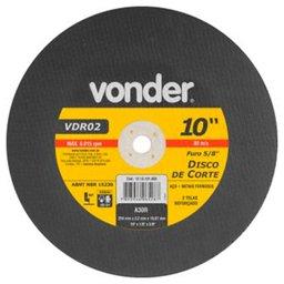 Disco de Corte 254 x 3,2 x 15,87mm G30 para Aço e Metais Ferrosos