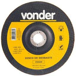 Disco de Desbaste 180mm VDA 60