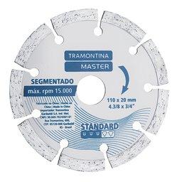 Disco de Corte Diamantado Segmentado 4.3/8 Pol. Modelo Standard