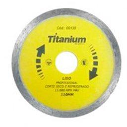 Disco Diamantado Liso 110 x 22mm com Bucha de Redução