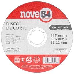 Disco de Corte G46 115mm x 1,6mm x 22,23mm