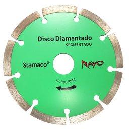 Disco de Corte Diamantado Rayo Segmentado de 5 Pol. 125 x 22,2 x 1,9mm